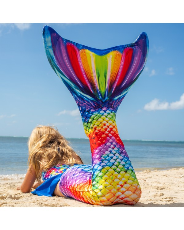 Multicolor Mermaid Tail